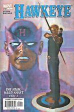HAWKEYE VOLUME III #1  THE HIGH HARD SHAFT I  MARVEL 2003  NICE!!!