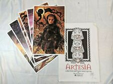 ARTESIA Portfolio Mark Smylie Signed & Numbered Limited Edition 105/1000 SAEC05