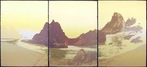 "Nancy Denison ""Gaea's Morning"" Triptych 3 Signed Numbered Artwork Serigraphs OBO"