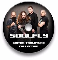 SOULFLY HEAVY METAL ROCK GUITAR TAB TABLATURE SONG BOOK TUITION SOFTWARE CD