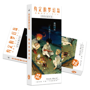 The Promised Neverland - Manga Anime Art Gloss Card Bookmarks (36 Pack)