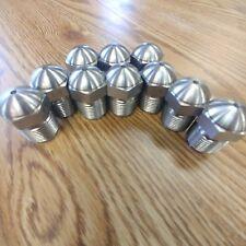 "Injection Molding Nozzle Tip - 1/2"" radius 1/8"" orifice  7/8-14 - GP design"