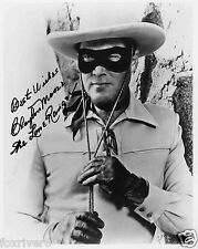 CLAYTON MOORE Signed Photograph - Film & TV Actor - The Lone Ranger - Preprint