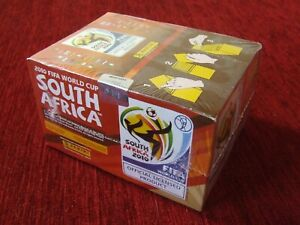 PANINI STICKER 2010 FIFA WORLD CUP SOUTH AFRICA SEALED BOX  (100 Packs)