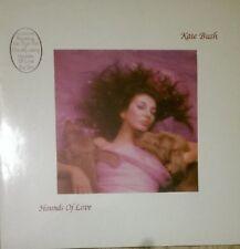 Kate Bush Hounds of Love European 1985 LP w printed inner lyric sleeves