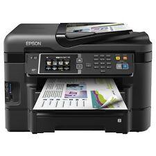 Epson Workforce Wf-3640 Colour Inkjet Multifunction Printer Black