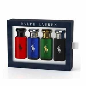Ralph Lauren WORLD OF POLO  4 x 30ml Gift Se, POLO/POLO BLUE/POLO BLACK/POLO RED