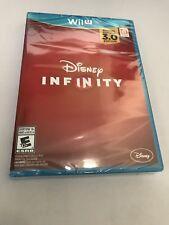 "NEW Disney Infinity 3.0 ""Nintendo Wii U GAME DISC"" FREE SHIPPING Sealed"