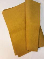 Genuine ULTRASUEDE SOFT Faux Suede Fabric - 1/4 yard piece - DIJON