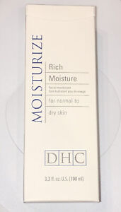 DHC Rich Moisture for Normal to Dry Skin 3.3 fl oz