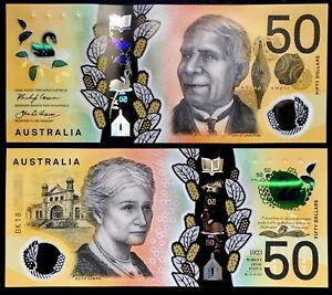 Australia 2018 P-65 50 Dollar Polymer UNC