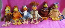 Playmates DreamWorks Chicken Run Plush Complete Lot Set of 6 2000 Nwt