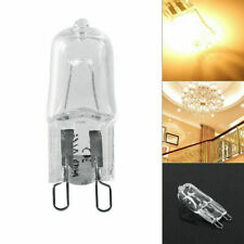 10x 40W G9 Base Halogen Lamp Bulb 120V Lighting Replacement Office Warm White