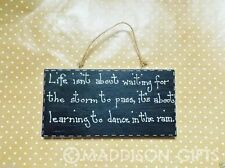 Contemporary Inspirational Decorative Wall Plaques