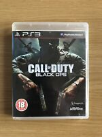 Call of Duty Black Ops PS3 - Sony PlayStation 3 Free Delivery Good Condition 🔥