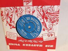 "UK 1960 EUROVISION ENTRY TEDDY JONSON PEARL CARR PICKIN' PETALS  7"" SINGLE"