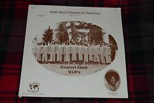 Youth Sing of Dreams for Tomorrow! Elmhurst Jr. High School~FAST SHIPPING!