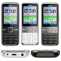 Refurbished Original Nokia C5-00 Unlocked 3G 5MP Camera WCDMA Mobile Bar Phone