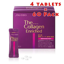 SHISEIDO The collagen Enriched tablet V 4 tablets × 60 Pack