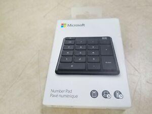 Microsoft - Number Pad - Matte Black