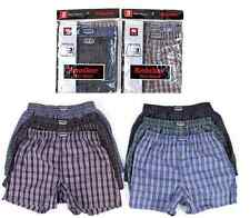 6 Mens Knocker Plaid Pattern BOXER SHORTS Underwear 3XL 50-52