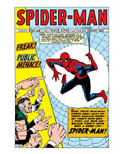 SPIDER-MAN! comic book lot of LUCKY 7 Marvel comics + AMAZING FREE 1970s RECORD