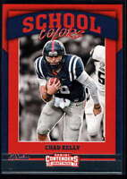 2017 Panini Contenders Draft Picks Football School Colors #13 Chad Kelly