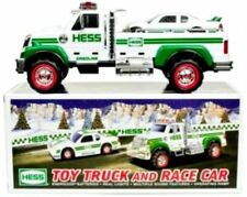 2011 Hess Toy Truck and Race Car with Bag & Batteries IN HAND!