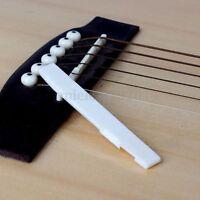 Buffalo Bone Bridge Lower Saddle For 6 String Acoustic Guitar Replacement Tool