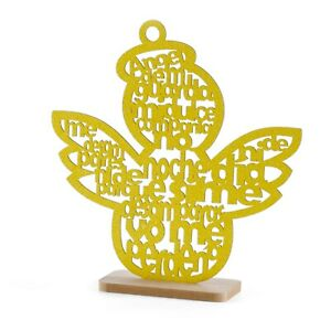 Baptism Centerpieces Wood Laser Cuts Angle Theme