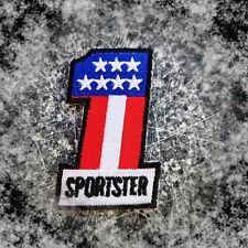 Sportster Patch XL 883 1200 1100  Aufnäher Biker fourty five Badge Harley