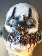 Creepy Killer Clown Mask Circus Freak Show Halloween Horror Side Show Carnival