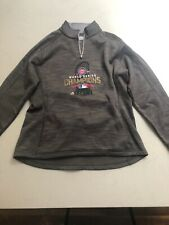 Majestic Therma Base Chicago Cubs 2016 World Series Half Zip Sweatshirt XL
