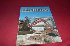 Ditch Witch R200 Backhoes Dealer's Brochure CDIL