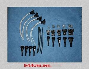 PORSCHE 924S 944 ENGINE WIRING HARNESS DME CRANK SENSOR CONNECTOR KIT ALL NEW