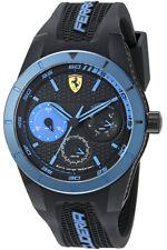 Scuderia Ferrari Red Rev Herrenuhr Tag+Datum 24Std-Anzeige Black-Blue SF0830256