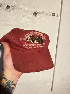 rare vintage polo ralph lauren Sportsman Dog Cap. Buckle