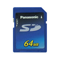 Panasonic 64 MB SD Card Non HC, SD Memory Card 64MB,RP-SD064B
