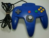 Nintendo 64 N64 Controller - Blue- AUTHENTIC   ORIGINAL   OFFICIAL   TESTED!