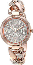 49047bd84d36 Michael Kors MK3635 Camille Rose Gold Dial Rose Gold Stainless Women s Watch