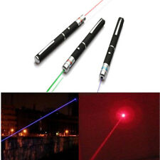 1PC Beam Pointer Pen Lazer Presentation Pens Cat Light Toy Gift 1mW Red Blue New
