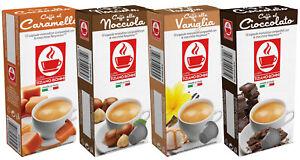 40 Kapseln Schoko/Vanille/Haselnuss/Karamell Kaffee Nespresso® kompatibel