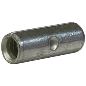 (200) Non-Insulated 12-10 Gauge Uninsulated Butt Splice Connector Wire Terminal