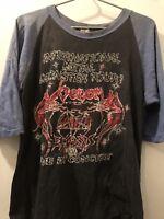 Slayer Venom Exodus Vintage Jersey T-shirt 80's Celtic Frost Metallica