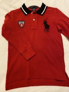 Ralph Lauren boy's polo shirt, size 5