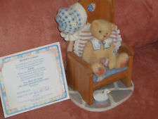 "Cherished Teddys Teddies  Amelia 1997-1998 Cherished Rewards ""You Make Me Smile"""