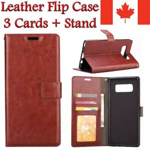 Leather Wallet Stand Cover Case For Samsung S9 S10 S20 FE Note 9 10 20 A5 A8 A71