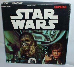 """""""Star Wars"""" Super 8mm Color/ Sound Film  400ft. Digest Very Rare"""