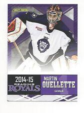 2014-15 Reading Royals (ECHL) Martin Ouellette (goalie)