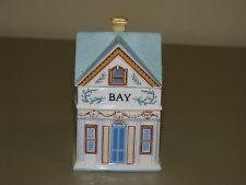 1989 The Lenox Spice Village Victorian House Jar Fine Porcelain ~BAY